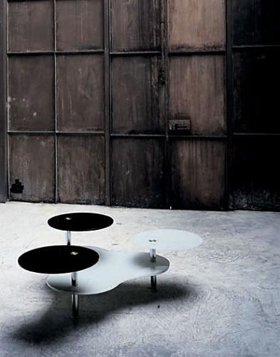 Nanda Vigo Tavolini Girevoli Table