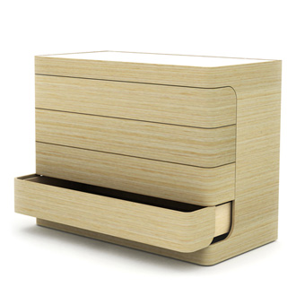 Nazanin Kamali Loop Chest Of Drawers