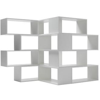 Nendo Zigzag Bookcase