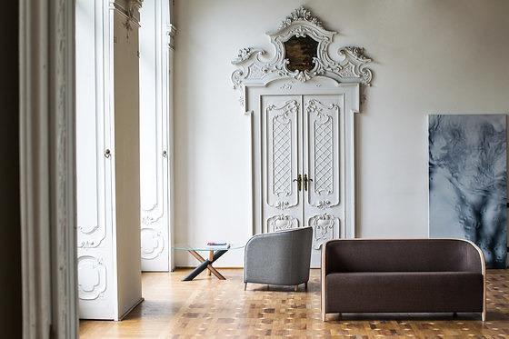 Nicola Nerboni Brig Sofa and Armchair