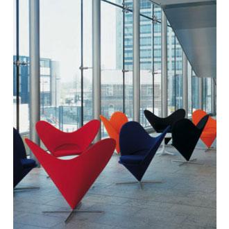Verner Panton Heart Cone Chair