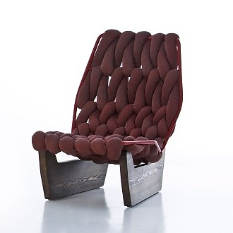 Patricia Urquiola Biknit Easy Chair