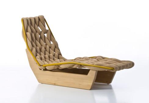 Patricia urquiola biknit chaise longue for Chaise longue 200 cm
