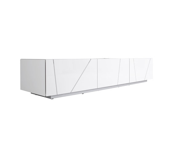 Peter Maly Lines Bookcase and Sideboard