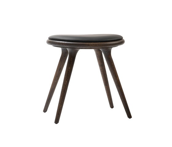 Peter Bundgaard Rützou and Signe Bindslev Henriksen Sirka Grey Stained Oak Premium Edition Stool Collection