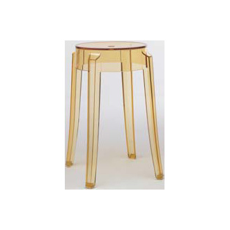 philippe starck charles ghost stool. Black Bedroom Furniture Sets. Home Design Ideas
