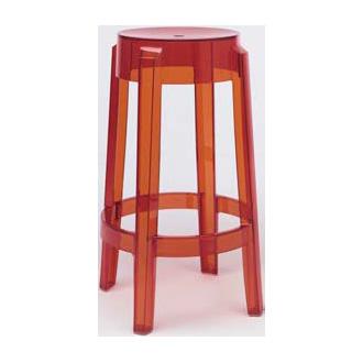 Philippe starck charles ghost stool for Philip starck stoel
