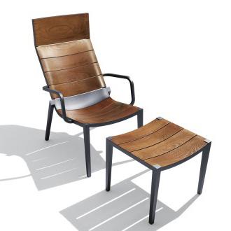 Philippe starck play tan lounge chair
