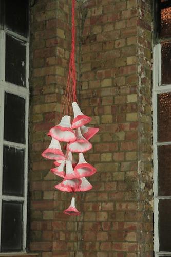 Pia Wüstenberg Paper Production Lights Lamp