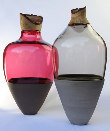 Pia Wüstenberg Transformed Stacking Vessels Vase