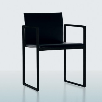 Piero Lissoni Eve All Black Chair