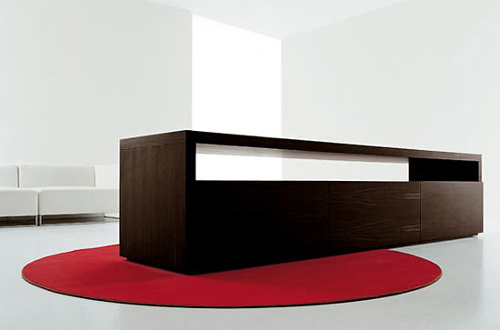 Piero Lissoni Roll Wide Sideboard