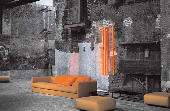 Piero Lissoni Dorian Sofa