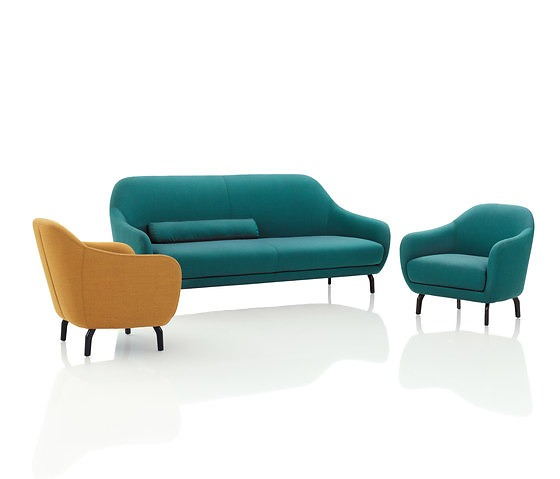 Polka Amber Seating Collection