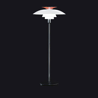 Poul Henningsen Ph 80 Floor and Table Lamp
