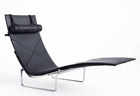 Poul kj rholm pk24 chaise longue for Chaise longue 200 cm