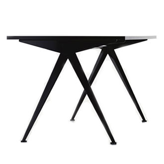jean prouv compas table. Black Bedroom Furniture Sets. Home Design Ideas