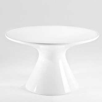 Eugeni quitllet and philippe starck king top dining table for Philippe starck glass table
