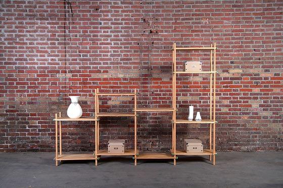 Reinhard Dienes Le Belge System Shelf