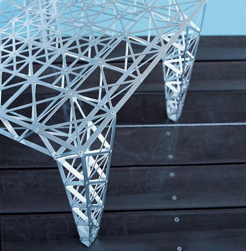 Riccardo Blumer and Matteo Borghi Origami Chair