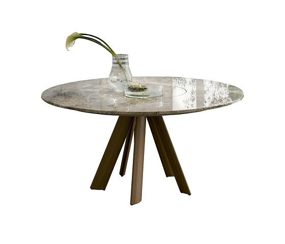 Riccardo Lucatello Lem Con Lazy Susan Table