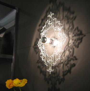 Richard Fard and Blandine Dubos Josephine 5D Lamp