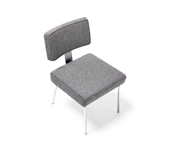 Richard Neutra Tremaine Side Steel Chair