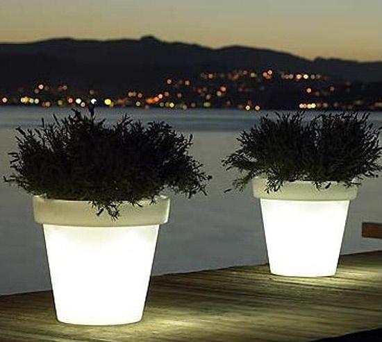 Rob Slewe Pot With Light