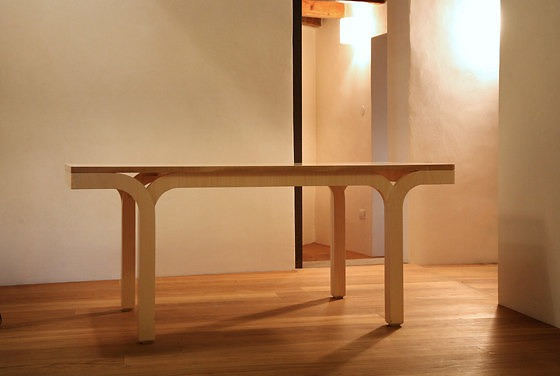 Roberto Semprini Wood Table