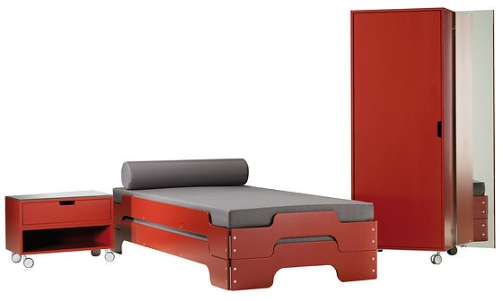 rolf heide stacking bed. Black Bedroom Furniture Sets. Home Design Ideas
