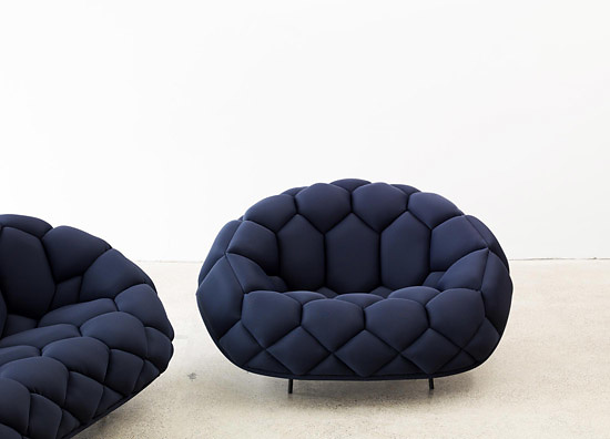Ronan and Erwan Bouroullec Quilt Chairs and Sofas