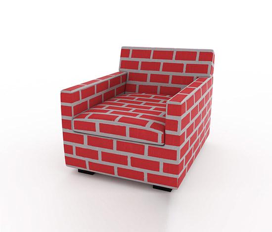 Sebastian Wrong and Richard Woods Bricks & Mortar Sofas and Chairs