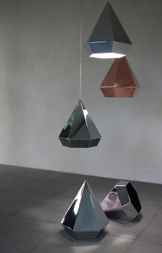 Sebastian Scherer Diamond Pendant Lamp