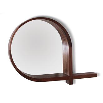 Skram Lineground Mirror-Entry Shelf