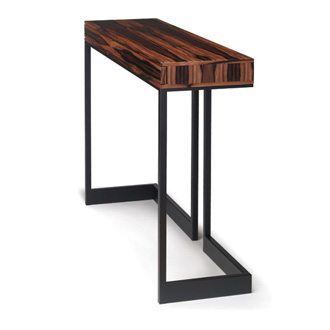 skram wishbone 2 drawer high table. Black Bedroom Furniture Sets. Home Design Ideas