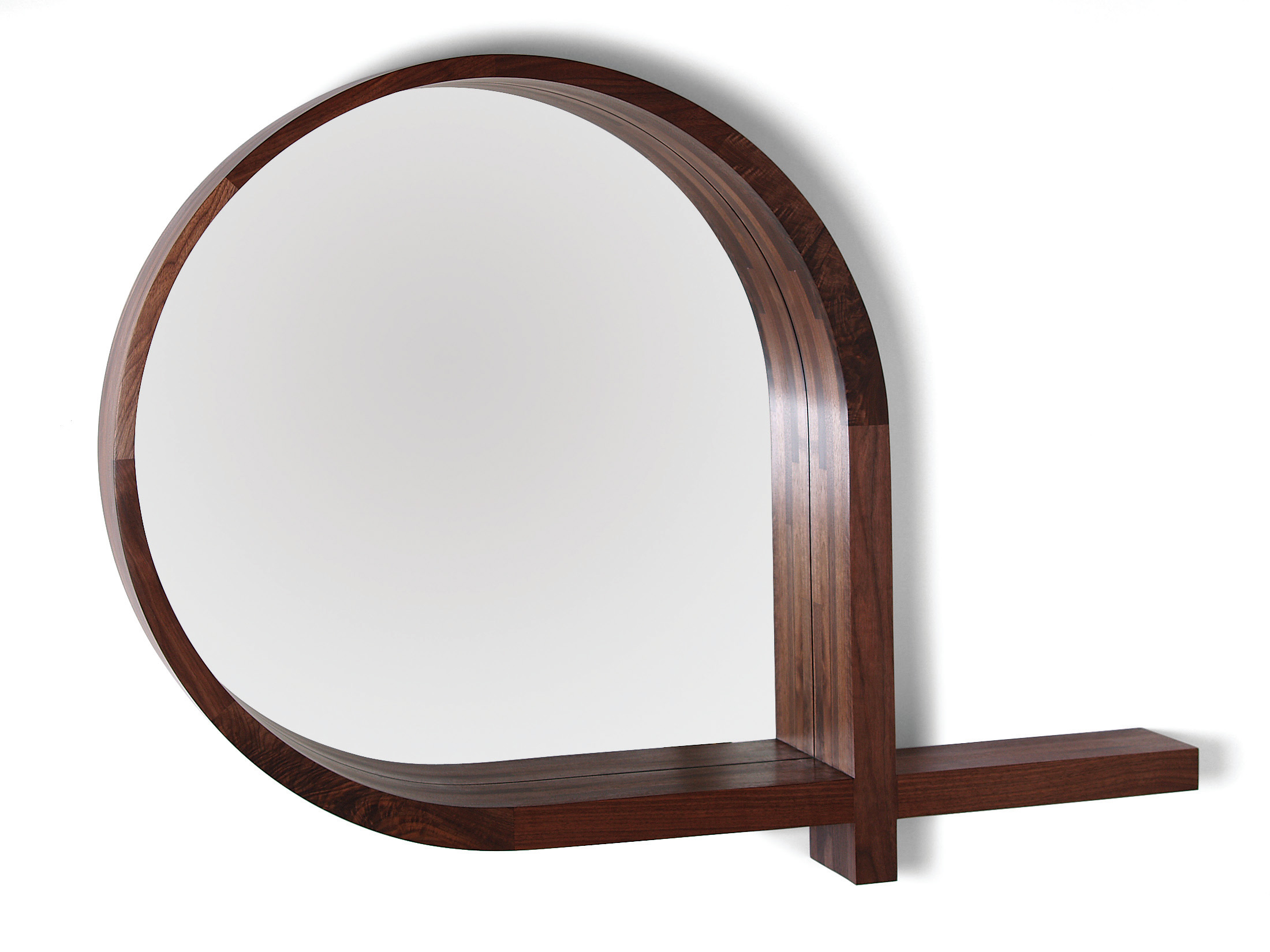 Skram Lineground Mirror Entry Shelf