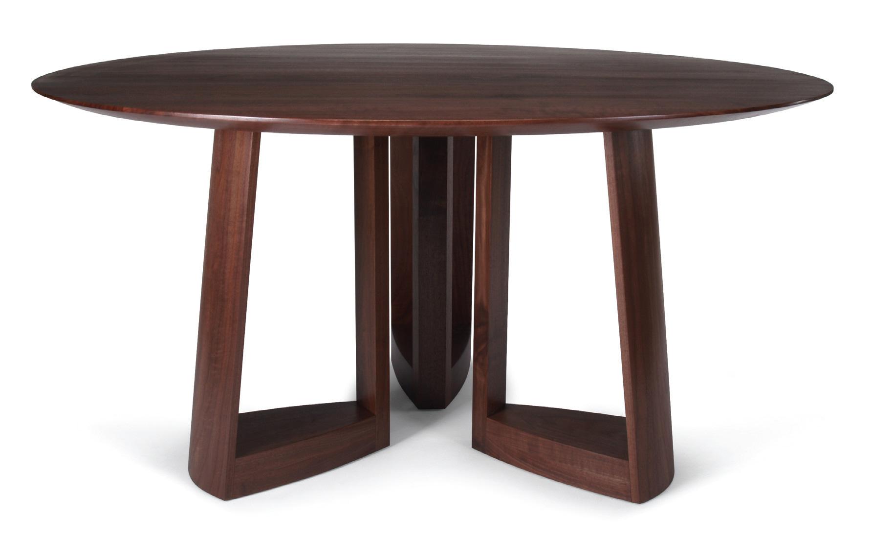 Skram Lineground Round Dining Table