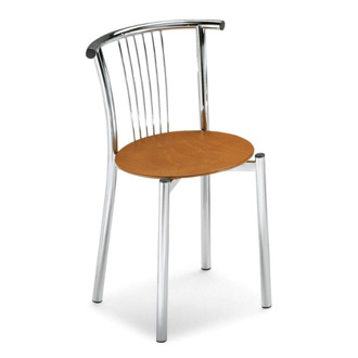 S.T.C. Cerchio Wood Chair
