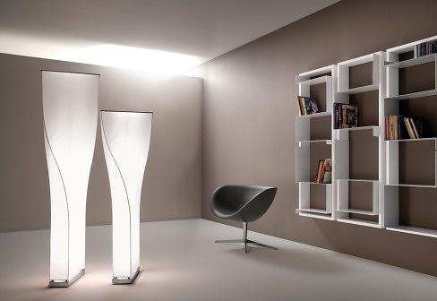 Stefan Heiliger Twisty Floor Lamp