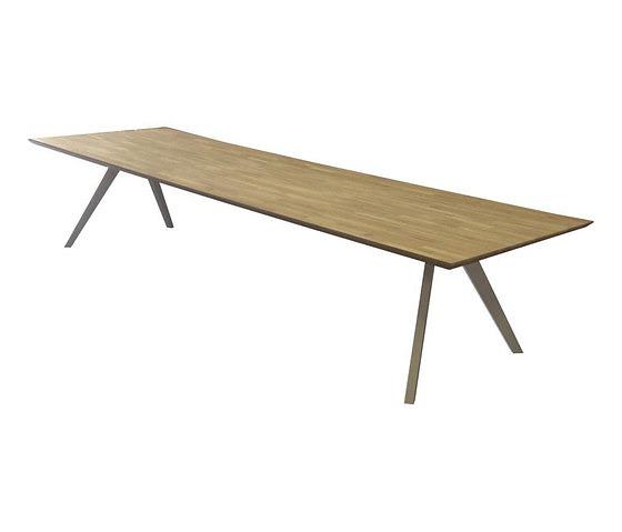 Studio C+I Oak V Square Table