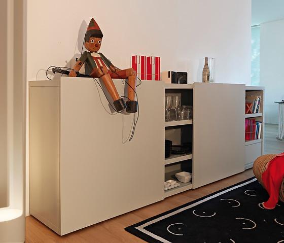 Studio Cappellini Hi Fi Cabinet