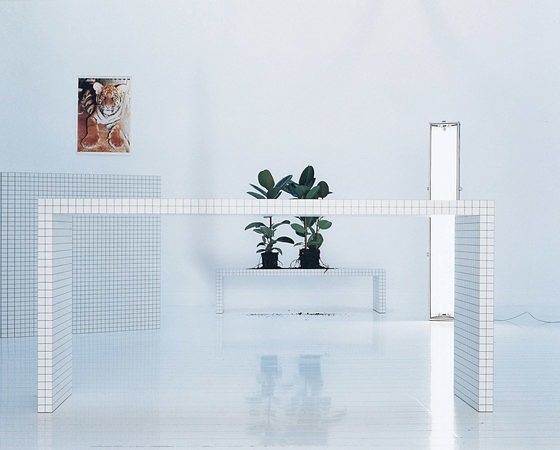 Superstudio Quaderna Table Collection
