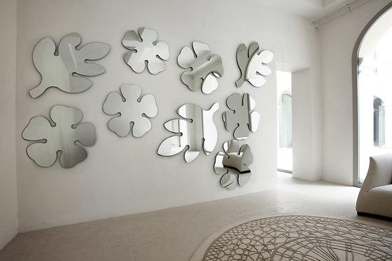 T. Colzani Frasca & Lotus Mirror