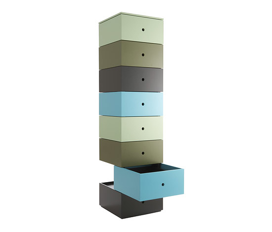 Tadao Hoshino Aphrodite Multicolored Drawers