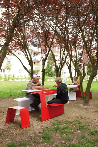 TF URBAN Piknik Table And Bench