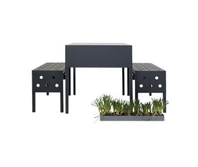 Thomas Sandell Bench Air Outdoor