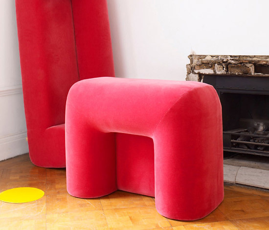 Tom Dixon Plump Seating Collection