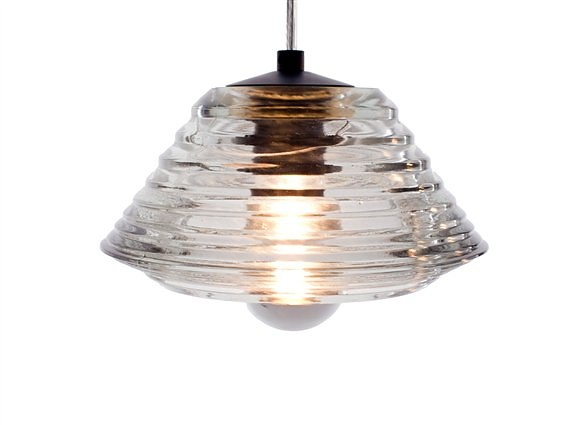 Tom Dixon Pressed Glass Light