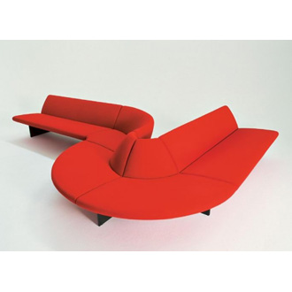 Tom Dixon Serpentine Waiting Room Seating System