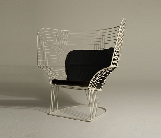 Tom Dixon Wire Seating Collection